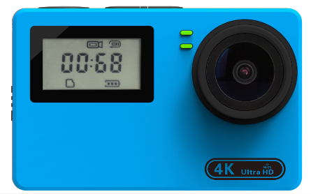 NTK96660 ture 25fps 4K sport camera 170 Degree Wide-angles Available Ultra HD