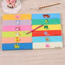 Wholesale cheap Chinese zodiac cartoon very small simple plastic pencil boxes