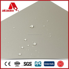 NANO coating waterproof wall panels acp aluminium composite panel