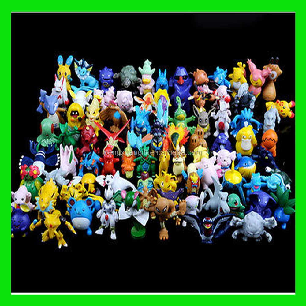 HOT Brand New Cute Pokemon Monster Mini figures toys lot 2-3cm 24 pcs in Random best wholesale