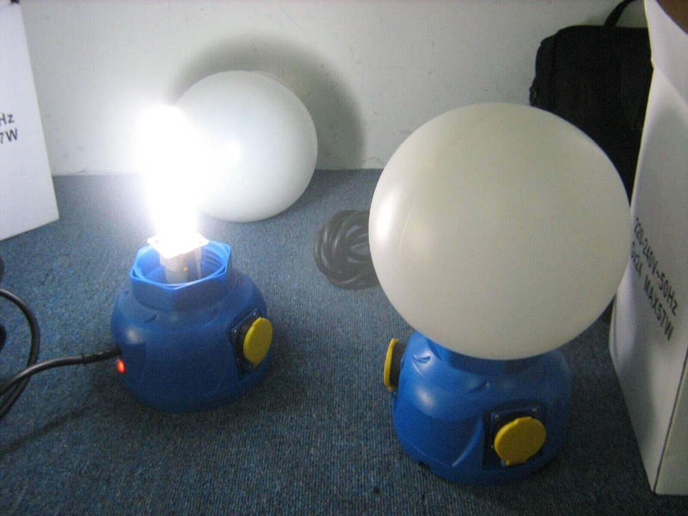 Globe Working Lamp / Work Lights Inspection / Globe Lantern Inspection