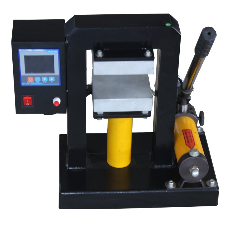 Hydraulic flower rosin weedporn press machine dual heat press 12cmx12cm plates