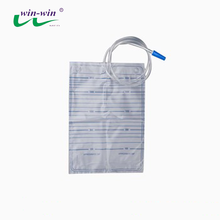 2000ml Disposable PVC Urine Drainage Bag without Outlet