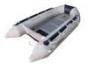 plywood floor folding boat JENHAL 4 people PVC tender boats for sale