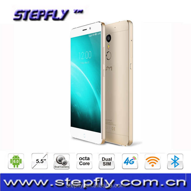 4GB RAM 32GB ROM 13.0MP UMI Super 4G cellPhone 5.5 inch Android 6.0 (MTK MT6755) Octa Core 2.0GHZ mobile pho