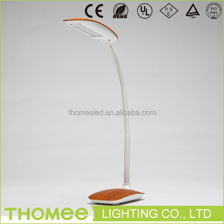 Brand new customized logo printed classic flexible eye protection led reading lamp for bed