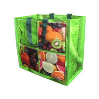 cheap disposable heat sealed pp woven shopping bag