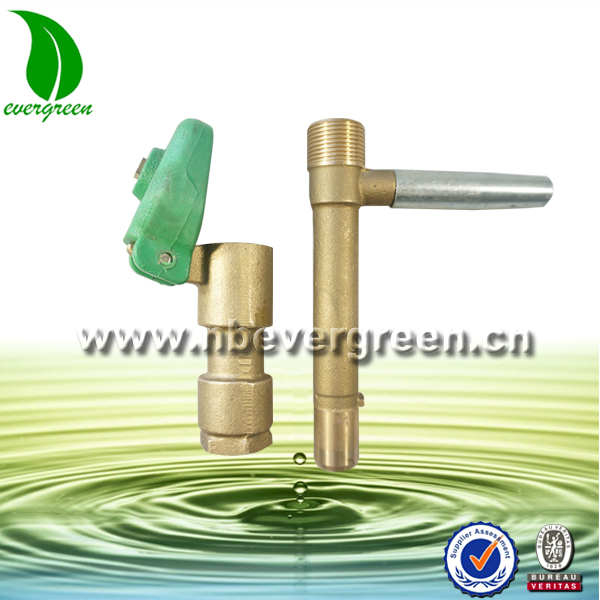 brass underground water valve for pop up sprinkler,quick coupling valve