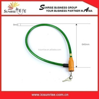 Safety Bike Cable Lock, New Bicycle Cable Lock With Key