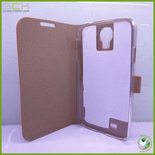 wood feeling flip case cover for samsung galaxy s4