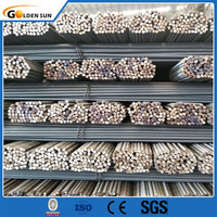 High Tensile Reinforcing Steel Bar Price/ Iron Rods Steel Rebar For Construction
