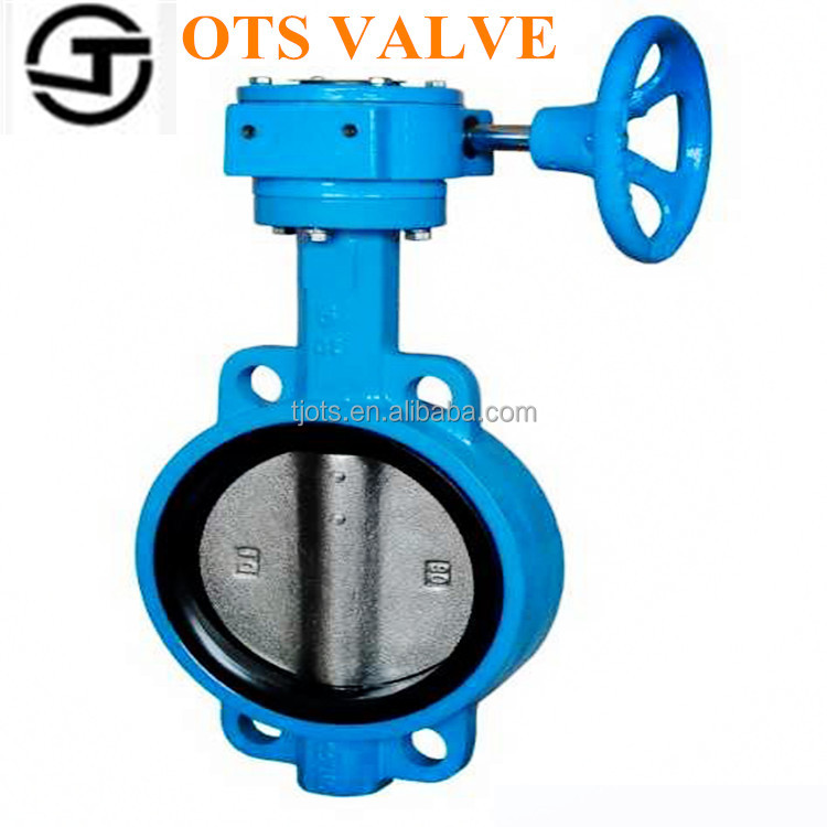 BV-LY-0301 lever gear actuated butterfly valve