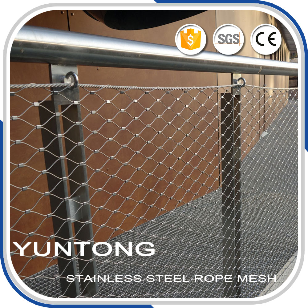 Stainless steel indoor and outdoor stair Railing <strong>Mesh</strong>,staircase <strong>mesh</strong>