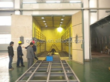 Q26 series best price , sand blasting booth with mechanical recovery system