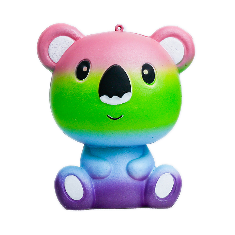 2019 hot selling anti stress animal toys for kids and adult kawaii slow rising custom koala squishy