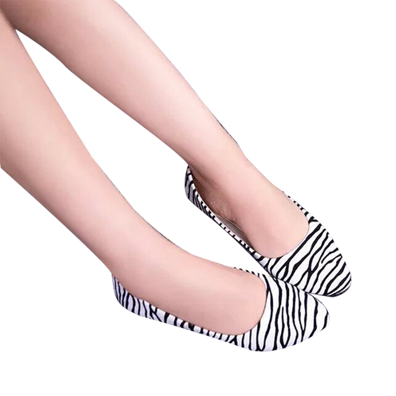 Shoes Women Flats leather Platform Pointed Toe 2015 Fashion Striped Design Sexy Female Ladies Women Outdoor Single Shoes DX2953