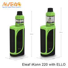 100% Original Eleaf iKonn 220 With Ello Kit 4ml &2ml Available Newest iKonn 220 Vape eCigarette Wholesale