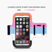 2015 New Sport Gym Running Armband Case Pouch Cover Phone Arm Band Bag csae For iPhone 6