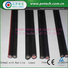 China Professional Tuv Pv1-F 2 core 2.5mm power cable wire