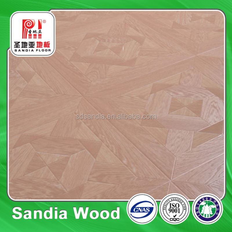 China Supplier German HDF AC3 Laminate Wooden Flooring