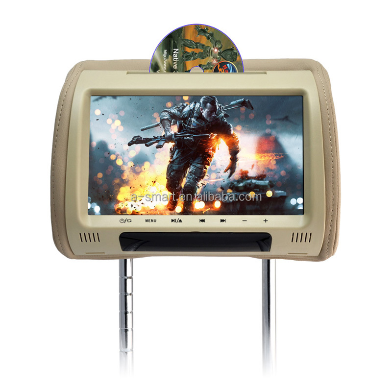 9 Inch Headrest TFT LCD Touch Screen Car DVD For Honda Civic
