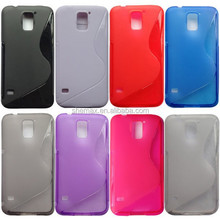 Silicon S Line TPU Case For Samsung Galaxy S5