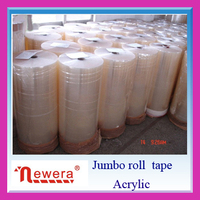 packaging tape inc bopp acrylic adhesive jumbo roll striping tape