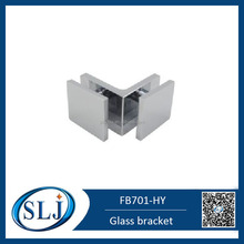 90 Degree Double Side Brass Wall Fixing Glass Bracket FB701-HY