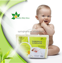 hypoallergenic, high quality 100% bamboo crib changing mattress pad