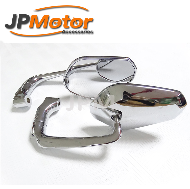 2017 New Style Motorcycle Mirror Classic chrome side mirrors