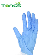 Best quality blue latex free surgical nitrile gloves latex free