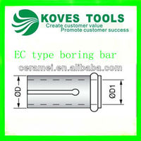 tungsten carbide tool holder EC type boring bar for sale