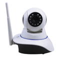small speaker microphone auto tracking ip camera