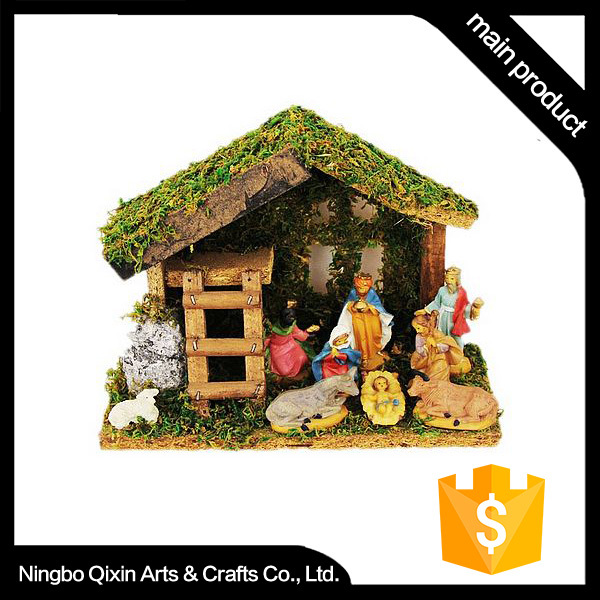 Polyresin Religious Statues Indoor Craft Nativity Scene