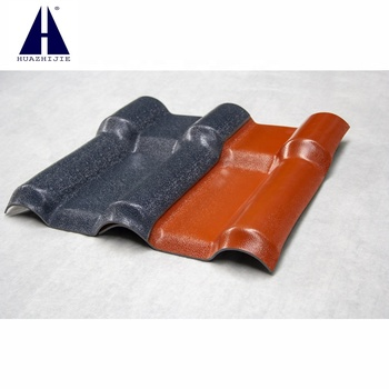 roof cover shingles material and accessories poymster plastic pvc roof tiles