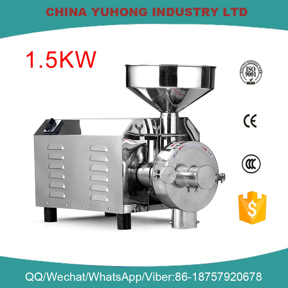 Oil material powder grinder/almond nut flour mill/ nut grinding crushing machine