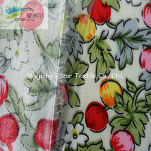 PVC Laminated Printed Polyester Cotton TC Fabric For Upholstery
