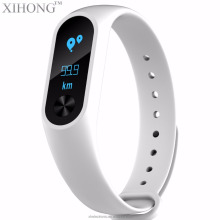 Sport wristband xiao mi band smart tracker led wristband for xiaomi smart band