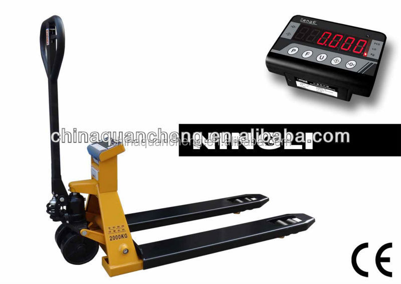 electronic forklift scales digital pallet truck scale