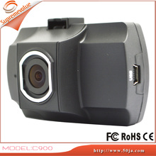 C900 Car Dashboard Camera Dash Cam Video Recorder Vehicle Blackbox DVR with 1.5 Inch Full HD 1080P 140 Degree Night Vision
