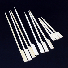 Popular all different size bamboo paddle skewer for burger