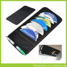 car tissue cd bag ,BHT096 car sun visor pocket