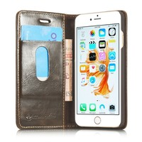 MANUFACTURE !! Stand Wallet Case For iPhone 5 5S 6 6S SE Plus Magnetic Leather Flip Cover Case