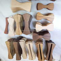 2017 Wooden Bow Tie Handmade Real