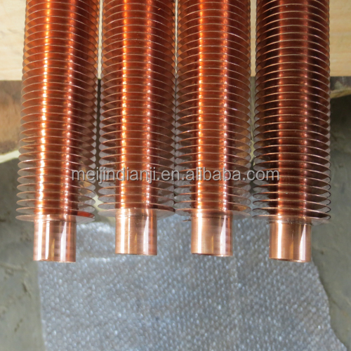 highest quality copper / carbon / stainless steel spiral finned tube for heat exchanger