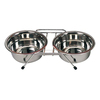 Pet Feeder Stand Stainless Steel Dog Bowl