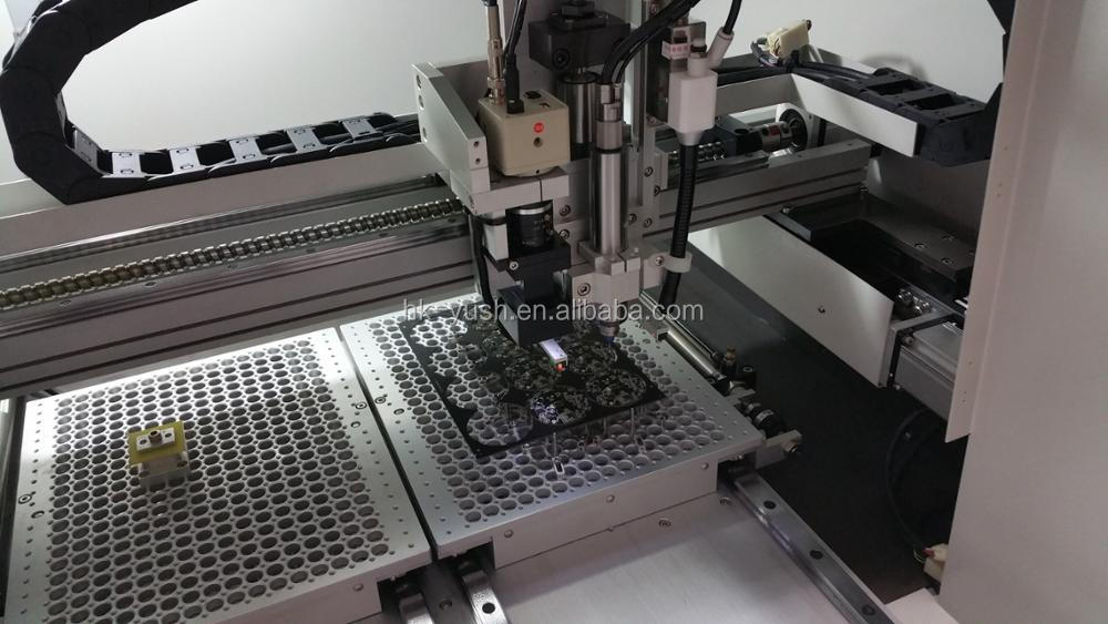 High Precision off -line , In-line CNC Pcb Router Automatic Pcb depasneling Router Machine YSVC-450