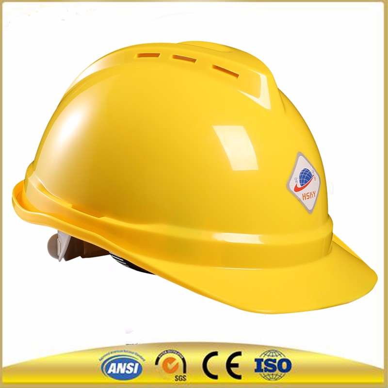 Base Type customized logo military hard hat ,safety helmet