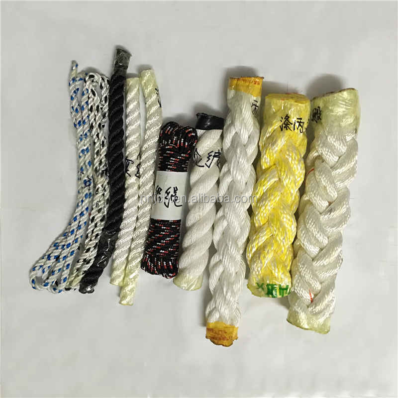 PP/Nylon/PET/HMPE/Aramid/ATLAS Braided Rope