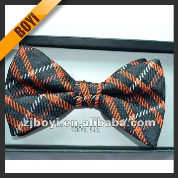 Fashion Stylish Yellow Bow Tie For Man